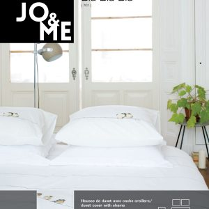 Housse de couette collection bla bla bla par Jo & Me