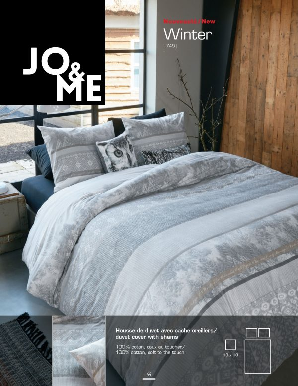Housse de couette collection Winter par Jo & Me