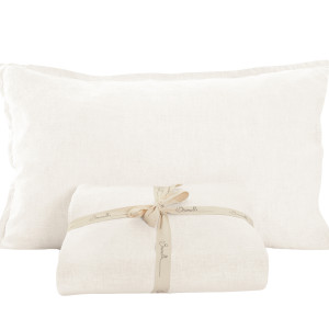 Collection linen oreillers blanc