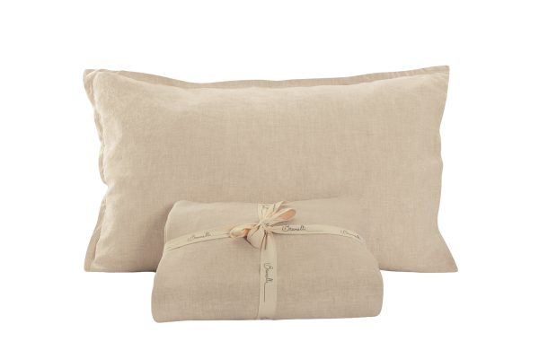 Collection linen oreillers naturel
