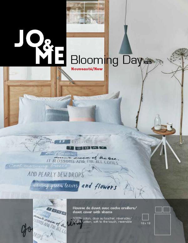 Housse de couette, collection blooming day de Jo & Me