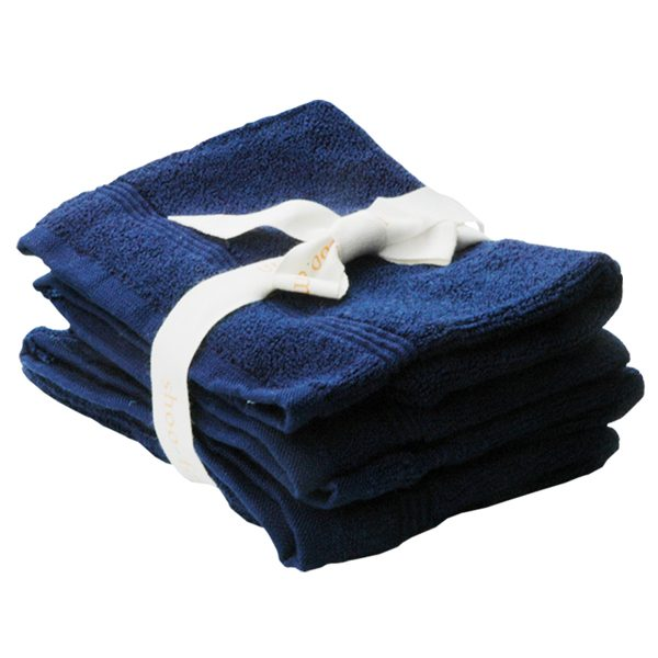 Mitaines de bain couleur bleux