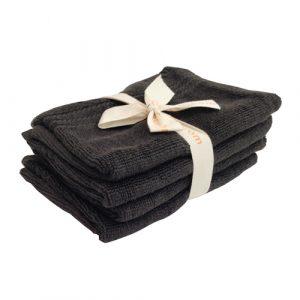 Mitaines de bain couleur charcoal