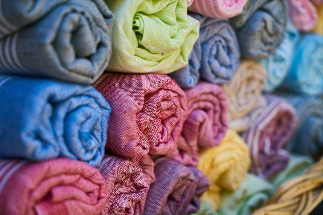 Serviettes de bain en coton